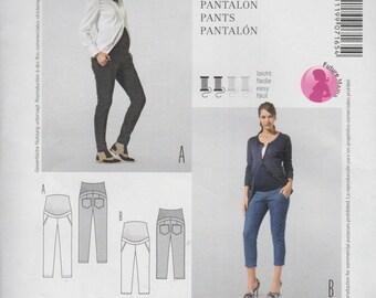 UNCUT Factory Folded Sewing Pattern Burda 7165 Ladies  Easy Trousers,Hose,Pantalon,Pants  US Sizes 8 to 20