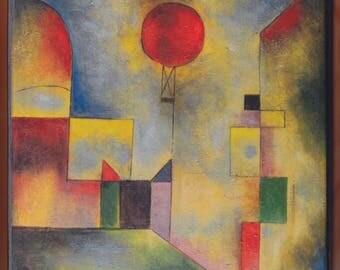 Red Balloon. 1922 - Paul Klee