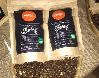 Premium Roasted Arabica Coffee Bean -  From Kalosi - Toraja - Indonesia