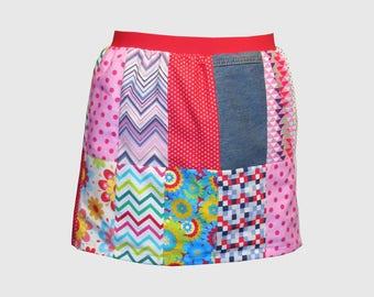 Woman Patchwork skirt