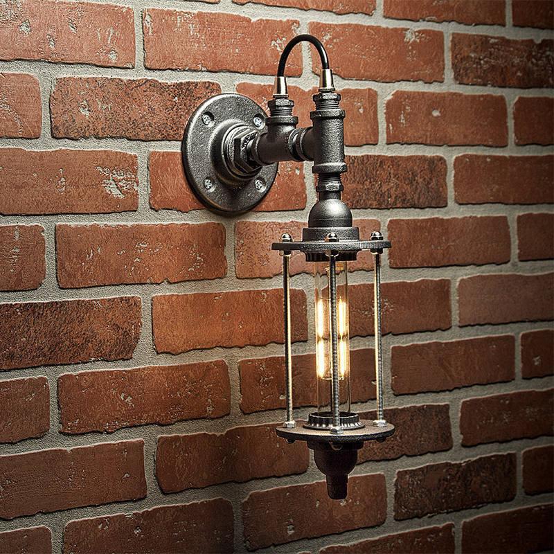Steampunk Lighting Lighting Pipe Sconce Light Industrial