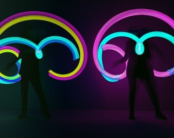 RGB LED POI juggler or lightpainting