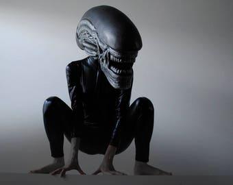 Alien: Covenant 2017 inspired Alien mask/helmet cosplay