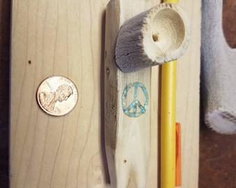 Mini peace sign peace pipe