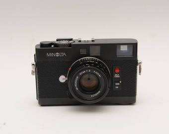 Minolta CLE with 40mm F2 Rangefinder Camera