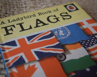 A Ladybird Book of Flags. A Vintage Ladybird Book. Series 584. 1974