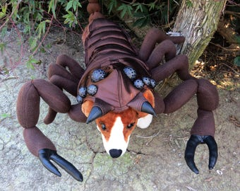 Sm./Med. Scorpion costume for Dogs by TKC Cozy Pawz