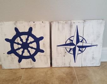 Nautical Wood Signs