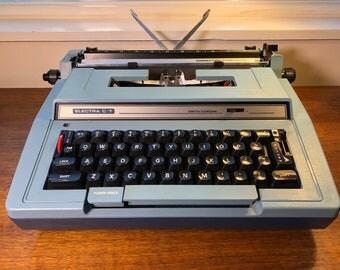 Mid Century Typewriter Working Smith-Corona Coronet Electra C/T Vintage