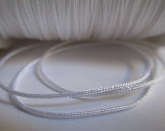 10 m 0.8 mm white nylon string