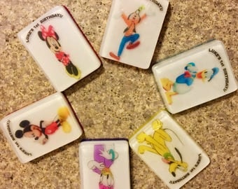 Mickey Mouse Club House soaps Collection/ Party Favors/ Soaps/ Handmade/ Birthday Party