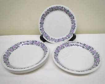 Arabia Finland, Sweet Hertta -Plates, 4 Pieces, by Raija Uosikkinen