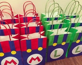 Super Mario & Luigi Goody Bags