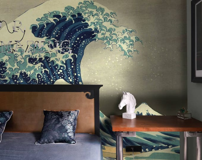 Great Wave off Kanagawa Wallpapers - Japanese  Wallpapers - Asian Wallpaper mural