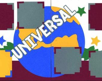 Universal Studios 12 x 12 Premade Scrapbook Pages