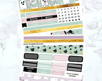October Monthly Sticker Kit