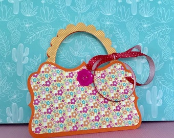 Gift Card Holder • Purse Gift Card Holder • Little Girl's Birthday  • Mother's Day • Congratulations • Just Because