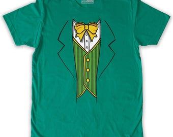 Function -  St. Patrick's Day Leprechaun Costume Men's Fashion T-Shirt