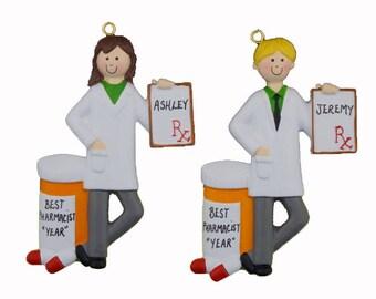 Pharmacist ornament | Etsy
