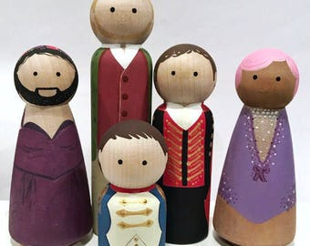 Pre Order - Greatest Showman inspired pegs