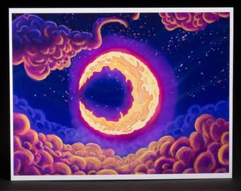 Animoon Digital Art Print