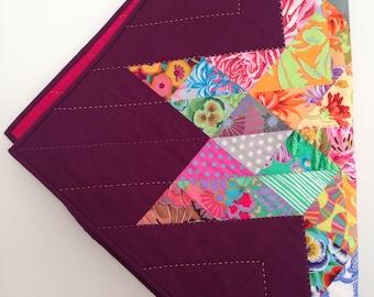 Modern Homemade Quilt - Star Quilt - Baby Quilt