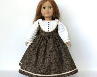 American Girl Doll Southern Belle dress with Eyelet petticoat