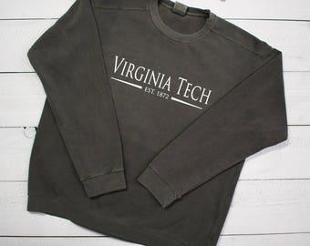Customized School Comfort Colors Sweatshirt - SHIPPING INCLUDED
