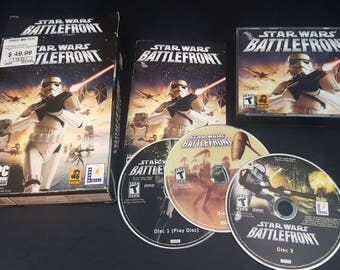 Star Wars Battlefront (PC, 2004) CIB