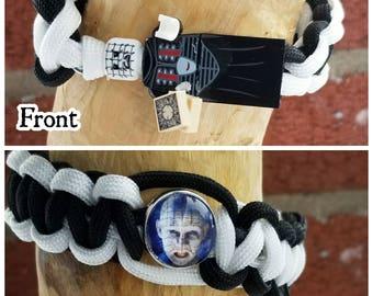 Hellraiser Pinhead paracord bracelet
