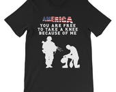 America - You Are Free To Take A Knee Because Of Me