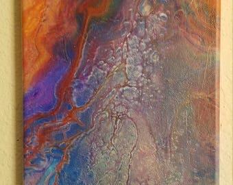 7x14 Fluid Art