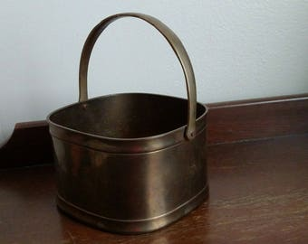 Brass Basket with Handle