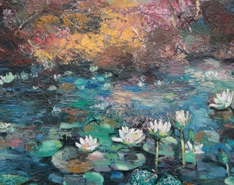 Water Lily - Original painting