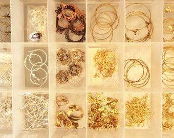 Box of Earring Findings