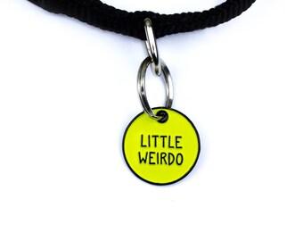 Pet Collar Charm // Little Weirdo