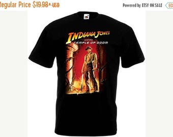 Summer Sale Indiana Jones And The Temple Of Doom 1984 Action Movie SHIRT