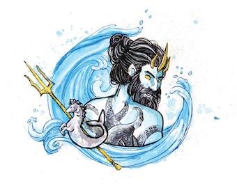 Print Poseidon