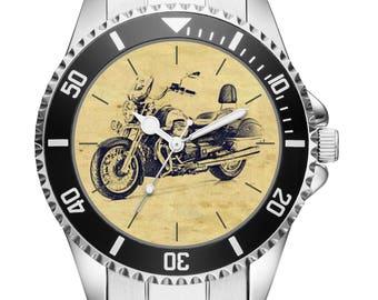 KIESENBERG ® Watch 20162 with motorcycle motif for Moto Guzzi California driver