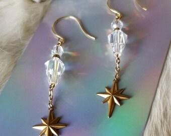The Tarot Star Earrings