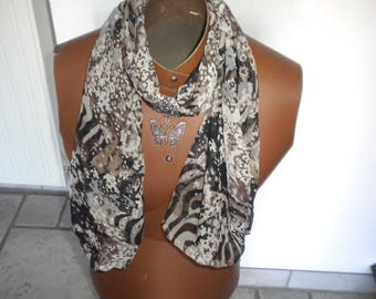 Jewelry handmade scarf fabric multicolor
