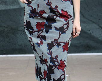 Midi skirt Yoro (indicate your size)