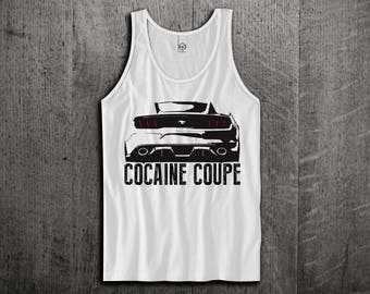 Ford Mustang Tank Top, Ford t shirts, Mustang shirts, cars tanks, Cocaine t shirts, Ford Mustang GT Unisex Tank top by Motomotiveink