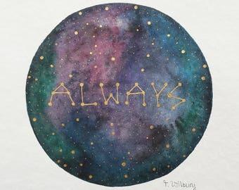 "original painting ""always"""