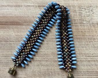 Beaded Bracelet, Dagger and Bead Bracelet