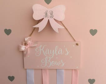 Hooks girls room bow hook monogrammed bow hooks clouds cloud hooks cloud nursery