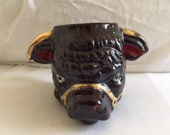 Vintage Bull Thrower Trophy Mug