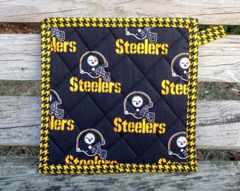 NFL Pittsburgh Steelers Football Quilted Pot Holder