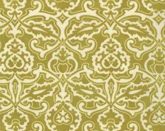 Moda HONEYSWEET SCROLLWORK Quilt Fabric 1/2 Yard By Fig Tree & Co - Pear 20214 14