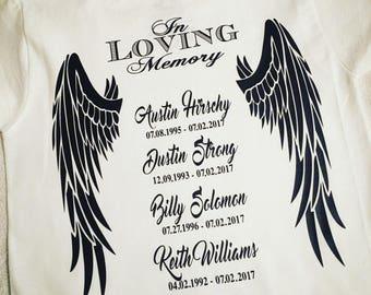 Angel Wings Shirt Etsy